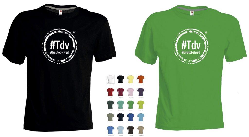 TdV 2016 t-shirt serigrafate
