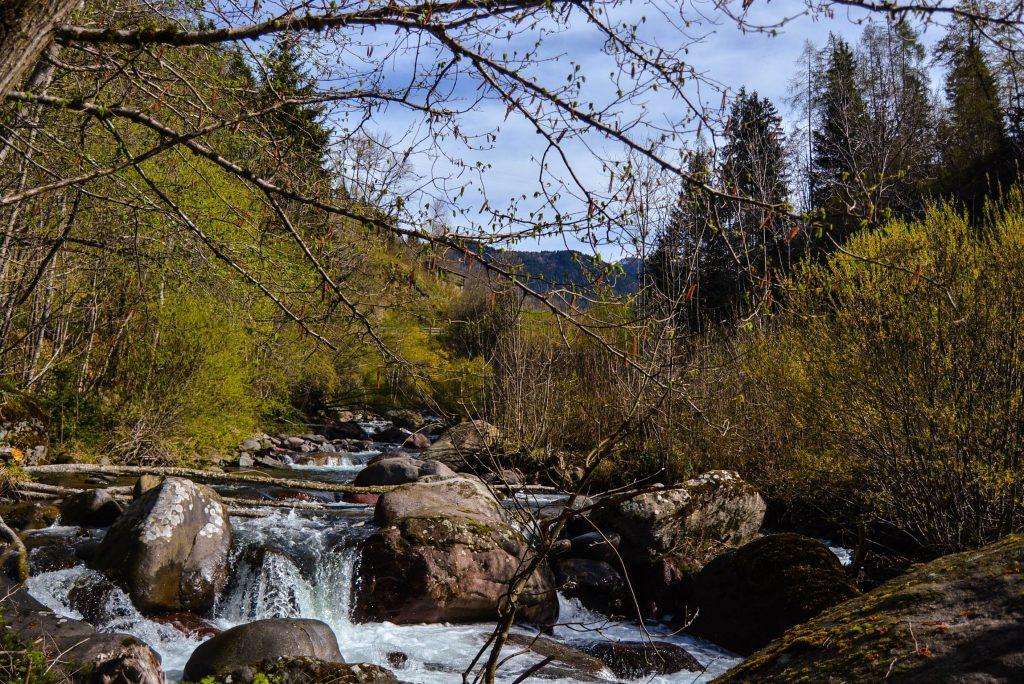sentiero fatatato-valle dei mocheni
