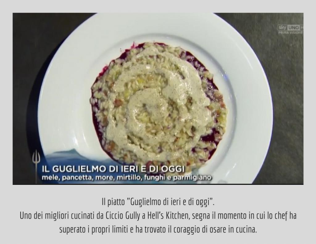 gugliemo romani hells kitchen italia